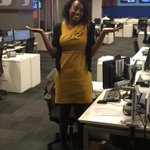 Whoops! @ProducerToya accidentally wore @saints colors on GameDay! #NOvsCAR. @Panthers fan fail! http://t.co/pDWNaMq05o