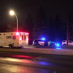 137 Ave. from 113A St. to 111 St. closed in both directions as EPS investigate a crash. #yegtraffic #yeg http://t.co/cQaA4pFwEb