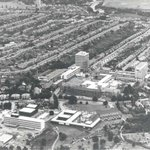 Aerial view of Highfield Campus in the 1960s #throwbackthursday http://t.co/7JCdjD8SWN