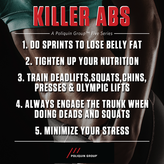 Five True Steps to KILLER #ABS http://t.co/pcmUlmw0t3