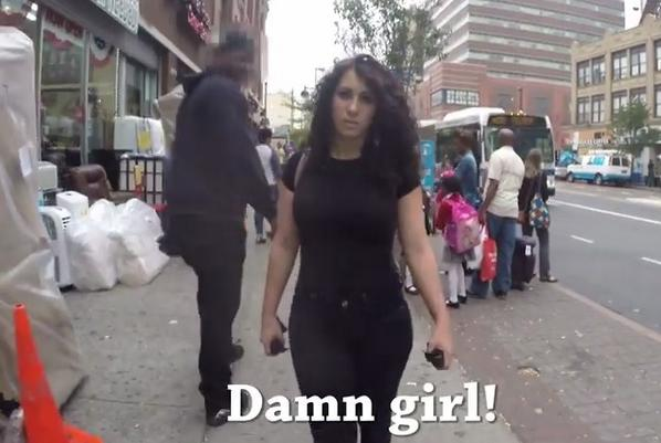 Director of viral 'walking in New York' catcalling video admits edited out white men from it. http://t.co/9NsWCSCZGQ http://t.co/eChz43Flo8