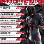 Heres your official game day schedule leading up to #ShowTime! #ItsGood2Be #CardNation #L1C4 #ItsTime http://t.co/baOJzAVluo