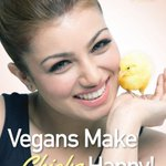 RT @bollywoodleague: PHOTO: AYESHA TAKIA-AZMI STICKS UP FOR CHICKS IN NEW PETA CAMPAIGN ... -