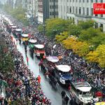 10 yrs ago today, over 3 million Bostonians gathered to celebrate the 2004 @RedSox in a @BostonDuckTours parade! http://t.co/62WlT4FcJl