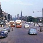 Throw Back Thursday - Princes Street in the 1960s #Edinburgh #tbt http://t.co/yvDf5FfUhk