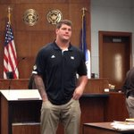 Taylor Lewan pleaded guilty this morning to counts of drunk and disorderly and disturbing the peace. http://t.co/euWpHB6TTE