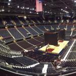 The calm before the storm. #CavsOpener #AllForCLE http://t.co/VNxEijpKAK