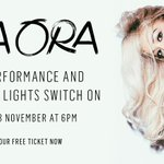 *Fanfare*@ritaora will be switching on our Xmas lights on Monday! Get your free tickets now: http://t.co/DZ1oa70Ij9 http://t.co/1fBynM1Ffr