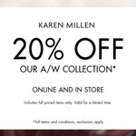 Enjoy 20% off the Autumn/Winter collection @KarenMillen within @fenwicknew. Must end Wednesday. http://t.co/3k0EExv9i8