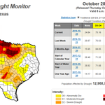 The current U.S. Drought Monitor has been released by @DroughtCenter. http://t.co/Qr4HePY3ZS #txwx #txwater http://t.co/6qJM2tBcN7