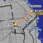 PHOTO: Here is the #SFGiants #WorldSeries parade route. More than 1 million fans expected to cheer on the team. http://t.co/bs5IyuX3lE