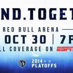 Happy @SKCgameday! Our playoff run starts TONIGHT vs. @NewYorkRedBulls. #DefendTogether http://t.co/QaMdm7WP08 http://t.co/Btmi2eLbXS