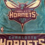 """Hey @MuggsyBogues, Here is the flag you donated after everybody at """"The Buzz Is Back Party"""" signed it! Thank You! http://t.co/HpyRhPPdXX"""