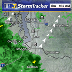 Rain moving into the #Seattle area shortly! #wakeupwithus http://t.co/JywxzhlpSX