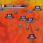 A little warmer in #Vegas today with light winds before temps peak tomorrow with strong gusts for Halloween evening http://t.co/MJ9dR6FHH1