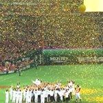 ☆ 福岡ソフトバンクホークス日本一\(^o^)/ ☆ 秋山監督、選手、チームスタッフの皆さん感動の日本一ありがとう~♪~♪ d(⌒o⌒)b♪~♪ 来年も『ゼッタイ!ホークスがやる』 #sbhawks #日本シリーズ http://t.co/24FzGHWysH
