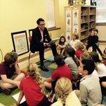 via @ashtonjhayward: Reading to the 4th grade at EDS. #upsideofflorida #Pensacola http://t.co/G3kG4O19Eg