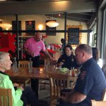 via @cityofpaloalto: Come join our Fire Dept for pizza and conversation @Howies #slicewithcity #paloalto http://t.co/GXo0rBvaQl