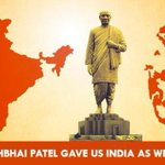 RT @ggiittiikkaa: British left us a partitioned India in which Delhi's hold wasnt across the length & breadth. But we had Sardar Patel! htt…