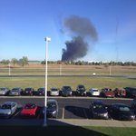 BREAKING: 911 dispatchers confirm plane is down at Mid-Continent airport http://t.co/9FLO5LG8Kz