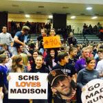 #madbum south Caldwell HS students cheering for World Series MVP Bumgarner! http://t.co/FjVJeC8FQn