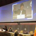 Pdte.#EvoMorales compartió experiencia boliviana con los programas MIAGUA y MI RIEGO ante el Foro de la #FAO http://t.co/XHHYSW0FIA