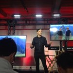 Strombos up at Rogers event announcing $100M Toronto studio with VICE Media http://t.co/1epQesvZzH