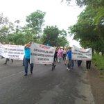 #FormulaVial Sale marcha de campo Samaria con alrededor de 400 personas con dirección a Vhsa   #twittab http://t.co/xexPYzeumr