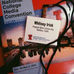 .@PeppGraphic is taking over Philly! Obligatory National College Media Convention photo #collegemedia14 http://t.co/Yy6IctTtQ7