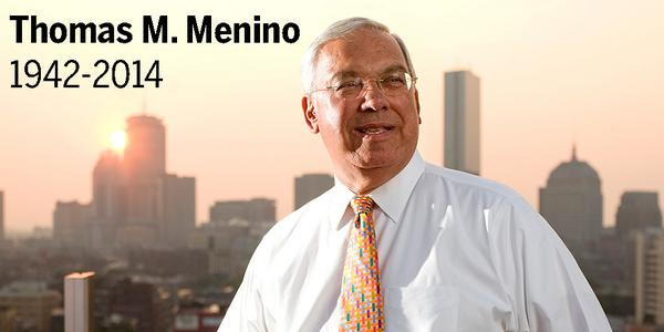 BREAKING NEWS: Thomas M. Menino, Boston's longest serving mayor, has died at 71 http://t.co/1gE1uP1NBF http://t.co/uoh7GunXyI