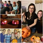 Who wouldnt want to carve pumpkins with @phidelt York? Just in time for #Halloween ???? #ΦΔΘ #ΔΠ http://t.co/TdhQKv27sE