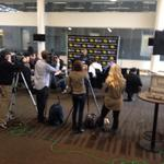 @IowaWBB Media Day at Carver Hawkeye Arena today - Here comes the season #GoHawks #cheer #UNTIL http://t.co/ZCBKWHAuPN