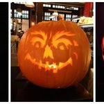 What do you think of our pumpkin carving skills? Entries by @chefstephensi @erbetta82 and Alex from the Dining Room http://t.co/tK68iY5E1M