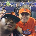 . @Marlins_Man hella Kool we had a good time he had me cracking up at the #WorldSeries ???????? http://t.co/ccPXandRzM