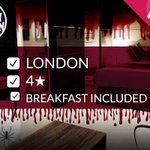 RT & Follow to #WIN a 4* #London hotel stay: http://t.co/h1RLYLEMZQ #FreeStayFriday #Competition. Winner at 4pm. http://t.co/lLD97mEgJt