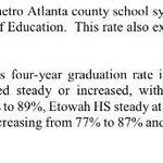 Way to go Knights!! 91% graduation rate!! #bestinthecounty http://t.co/JiMICQlXvc