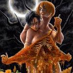 かぼちゃを擬人化してみた。 #ハロウィン #コピック #Halloween #TrickorTreat http://t.co/PGlIIsEIZS