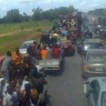 Mubi, Adamawa. This is Jonathans cease fire deal. #Nigeria. http://t.co/18oYNmn7ZO