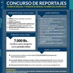 Concurso de reportajes sobre trabajo sexual y violencia sexual comercial en Bolivia https://t.co/0s5MQI5xlD http://t.co/p2Vsu8TiPA