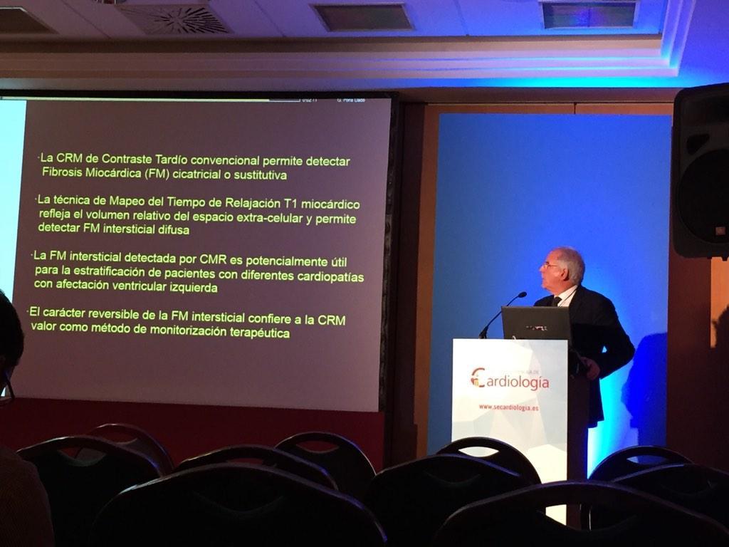 RT @GuzmnNy: Conclusiones del Dr Pons sobre la fibrosis miocárdica difusa detectada con cardio-RM. #sec14 @secardiologia http://t.co/YqLN874HTs
