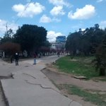 Protestas en la #UPTC por designacion de C Amaya como rep de Santos en el CSU Tunja http://t.co/YC4nEGBG4f