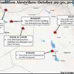 More Airstrikes Target ISIS in Syria, Iraq http://t.co/bTfMAizCsR via @CENTCOM | Map by @BridgetMoreng & @PatMegahan http://t.co/6nQkA73SmS