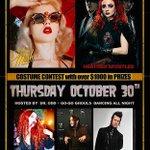 Tonight! #Halloween Ball! @StFelixHwd #burlesque #livemusic DJs @LinaLecaro @CasperVonDj #hollywood #la #LosAngeles http://t.co/KMKQv5uSgV