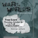 Let the invasion commence! Tonight @ join us for #WarOfTheWorlds live radio show onstage @ 7pm! #VanWA #FREE http://t.co/HD0TEXFkFx