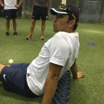 RT @ICCAcademySam: @AzharMahmood11 loves his shirt frm @PitchVision @ICCAcademy for his amazing T20 camp been a pleasure 2 work with him ht…