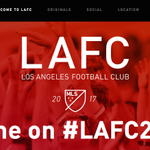 Los Angeles Football Club. Eh. At least MLS will finally have a red team. Heres the website: http://t.co/mm0jqfOVeg http://t.co/FW17wBB9zb