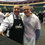 Serving soup at the MTS Centre for @WinnipegHarvest a great cause @TheWpgChamber @wefityou @mbchambersofcom http://t.co/THm9lpAeCP