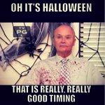 Its Halloween? Thats good timing. http://t.co/FjYvkTtyHJ
