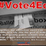 ICYMI:@Lily_NEA tours key states encouraging voters to #Vote4Ed and support public schools: http://t.co/ww6OoDDbNj http://t.co/z2sbD1lVWP