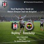 #BeşiktaşİçinKenetlenmeZamanı Sizinle daha güçlüyüz... http://t.co/sAQMHVm3k8